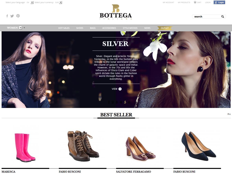 www.bottegaitaliana.kz
