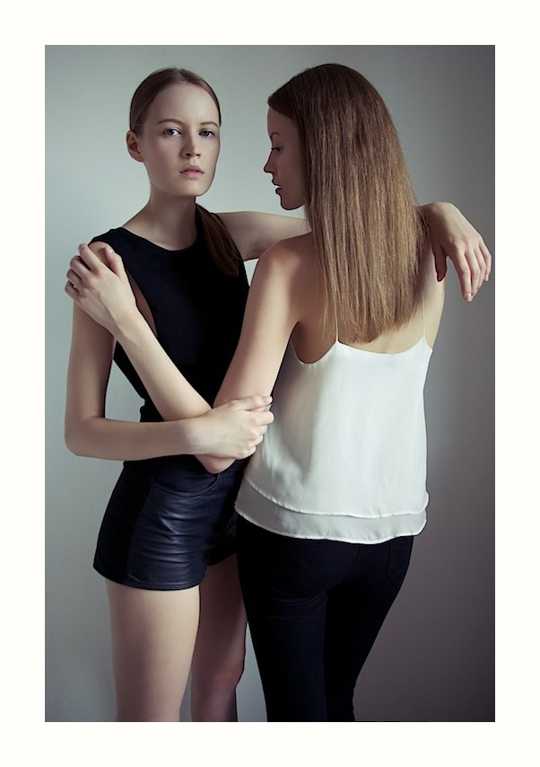 Federico Simone, Twins, Gemelle, No Logo, Woman, Test, Models