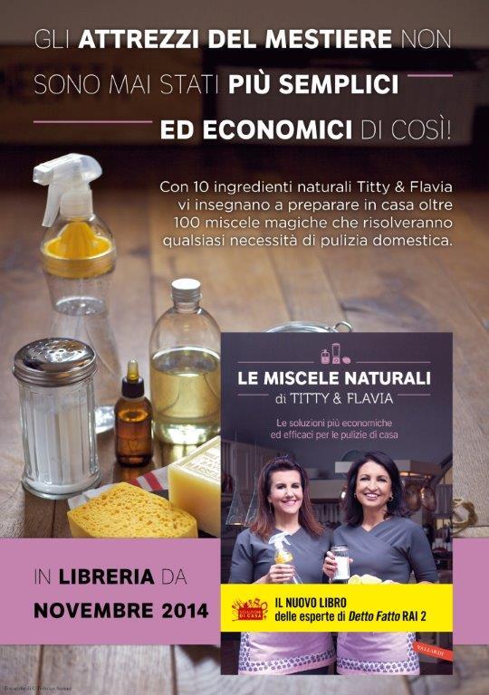 Le Miscele Naturali di Titty e Flavia by Federico Simone volantino